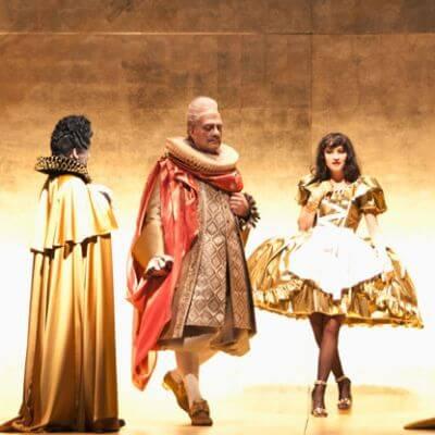 """Szenenbild aus """"L'Incoronazione di Poppea"""""""