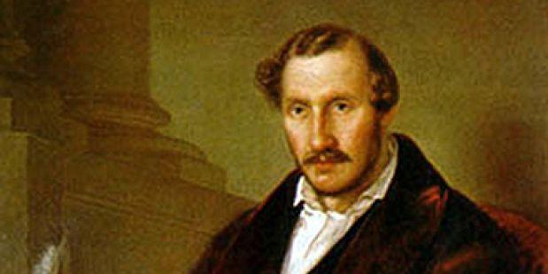 Gaetano Donizetti. Gemälde von Giuseppe Rillosi