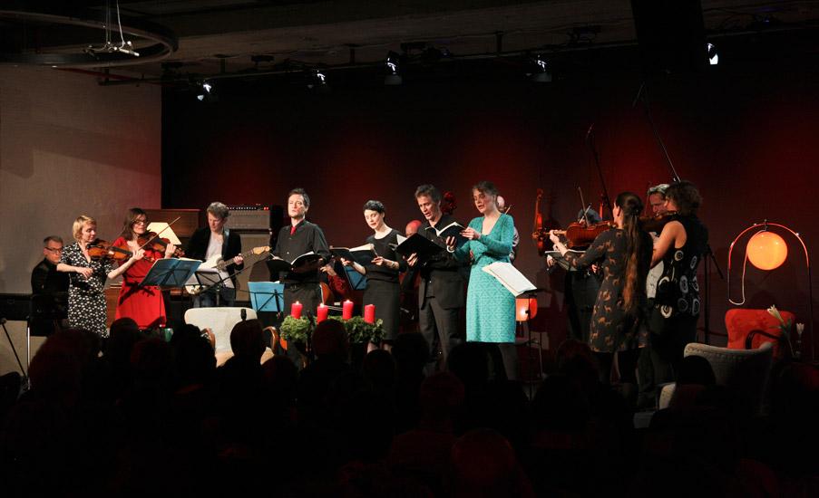 Weihnachtsoratorium à la Ensemble Resonanz: in kammermusikalischer Besetzung, mit E-Gitarre und Harmonium