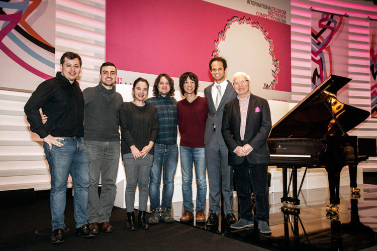 International Telekom Beethoven Competition, Semifinalisten 2017