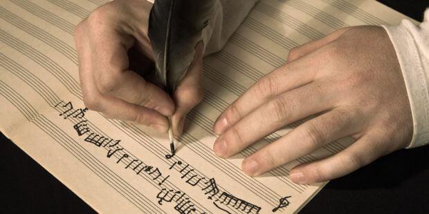 Symbolbild Komponist