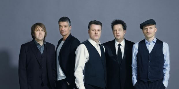 """Die Gruppe """"Die Prinzen"""" mit Henri Schmidt (Mitte)"""