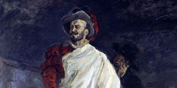 Der Sänger Francisco d'Andrade als Don Giovanni. Ölgemälde von Max Slevogt, 1912