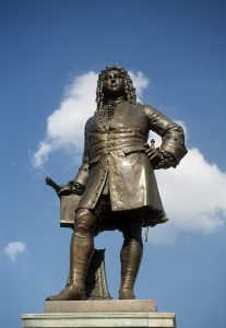 Händeldenkmal in Magdeburg