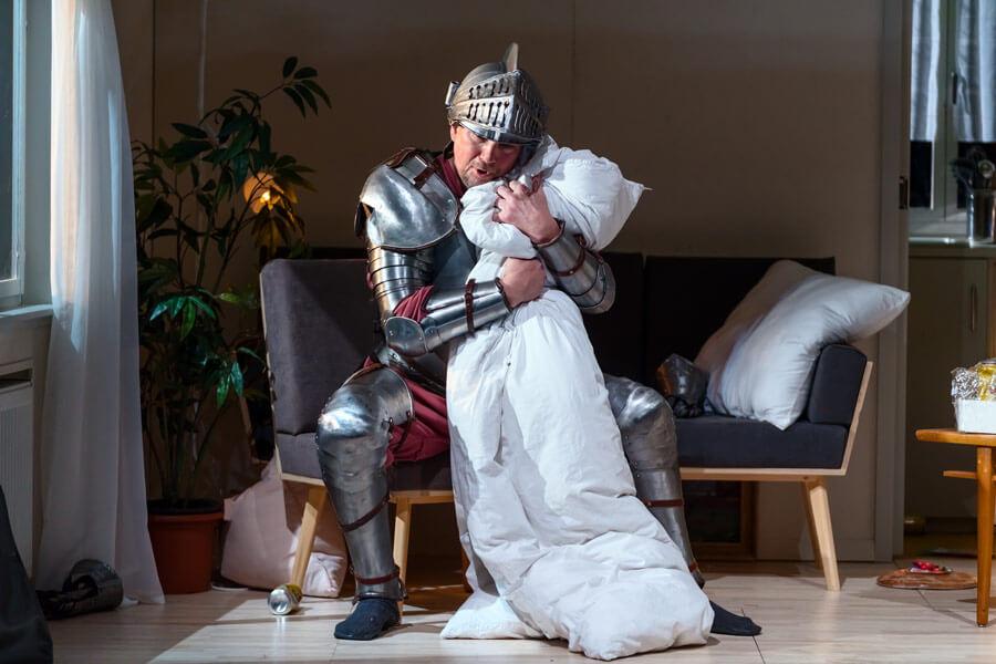 """Szenenbild aus """"Falstaff"""""""