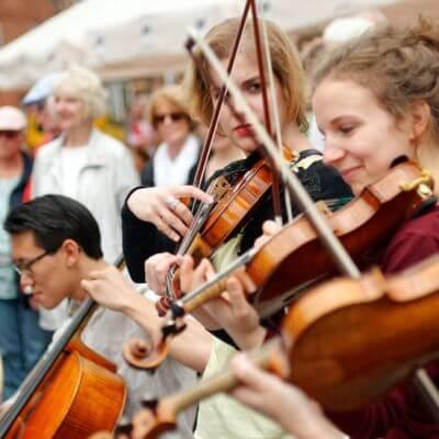 Sommerliche Musiktage Hitzacker. Festival-Auftaktkonzert auf dem Marktplatz 2017
