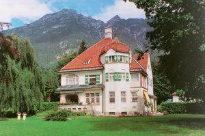 Strauss-Villa in Garmisch-Partenkirchen