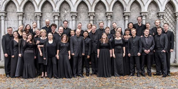 Collegium Vocale Gent, in großer Besetzung