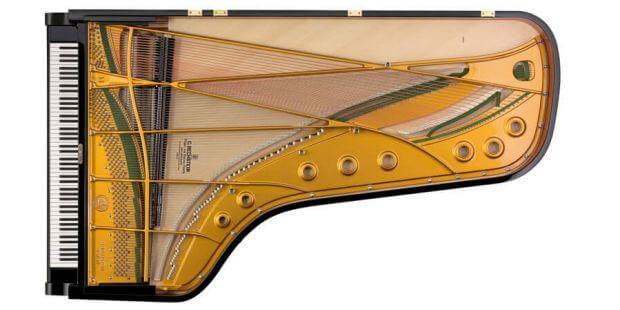 Flügel D282 von C. Bechstein