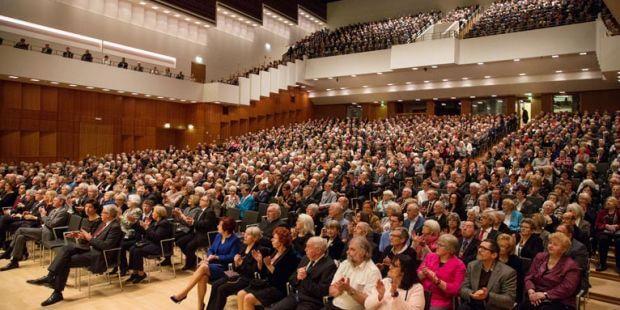 Publikum der Duisburger Philharmoniker