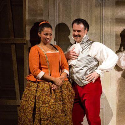 """Szenenbild aus """"Le nozze di Figaro"""""""