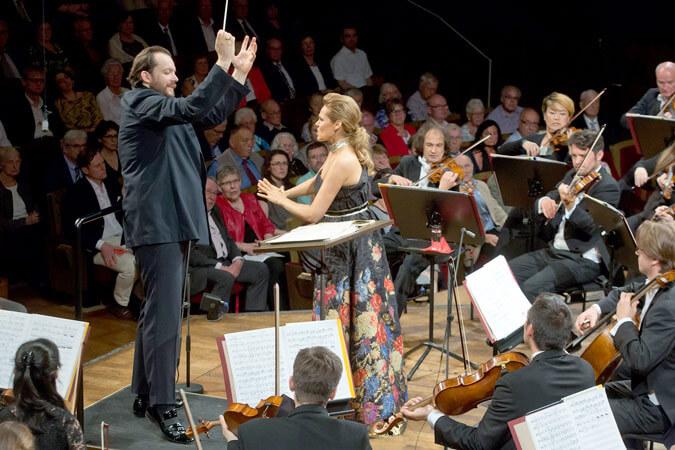 Andris Nelsons, Kristīne Opolais und das Gewandhausorchester Leipzig