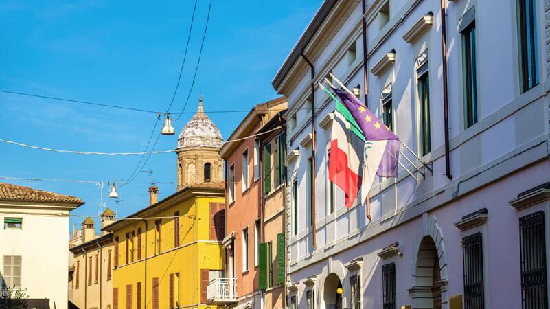 Innenstadt von Ravenna