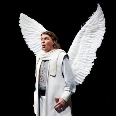 Lohengrin/Deutsche Oper Berlin. Klaus Florian Vogt in der Titelrolle des Lohengrin