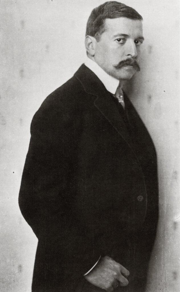 Hugo von Hofmannsthal. Fotografie von Nicola Perscheid, 1910