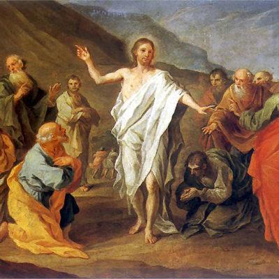 Symbolbild Ostern/Auferstehung. Gemälde von Szymon Czechowicz