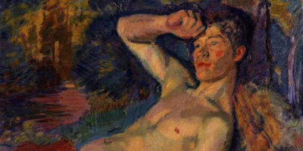 Faun. Gemälde von Magnus Enckell, 1914
