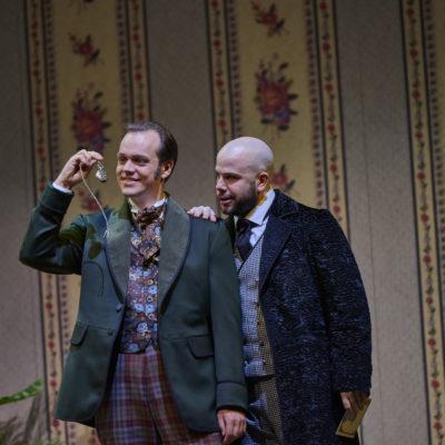Thomas Blondelle (Gabriel von Eisenstein), Thomas Lehman (Dr. Falke)
