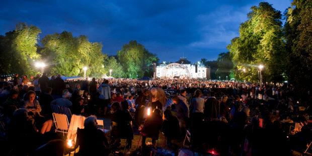 Open-Air-Konzert bei den Ludwigsburger Schlossfestspielen