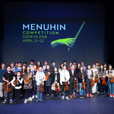 Teilnehmer Menuhin Competition 2018