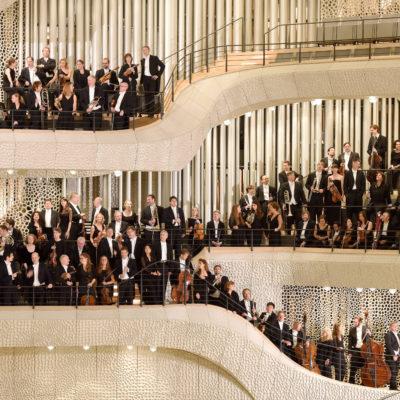 NDR Elbphilharmonie-Orchester, auf den Zuschauerrängen der Elbphilharmonie