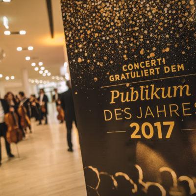Das Publikum des Jahres 2017