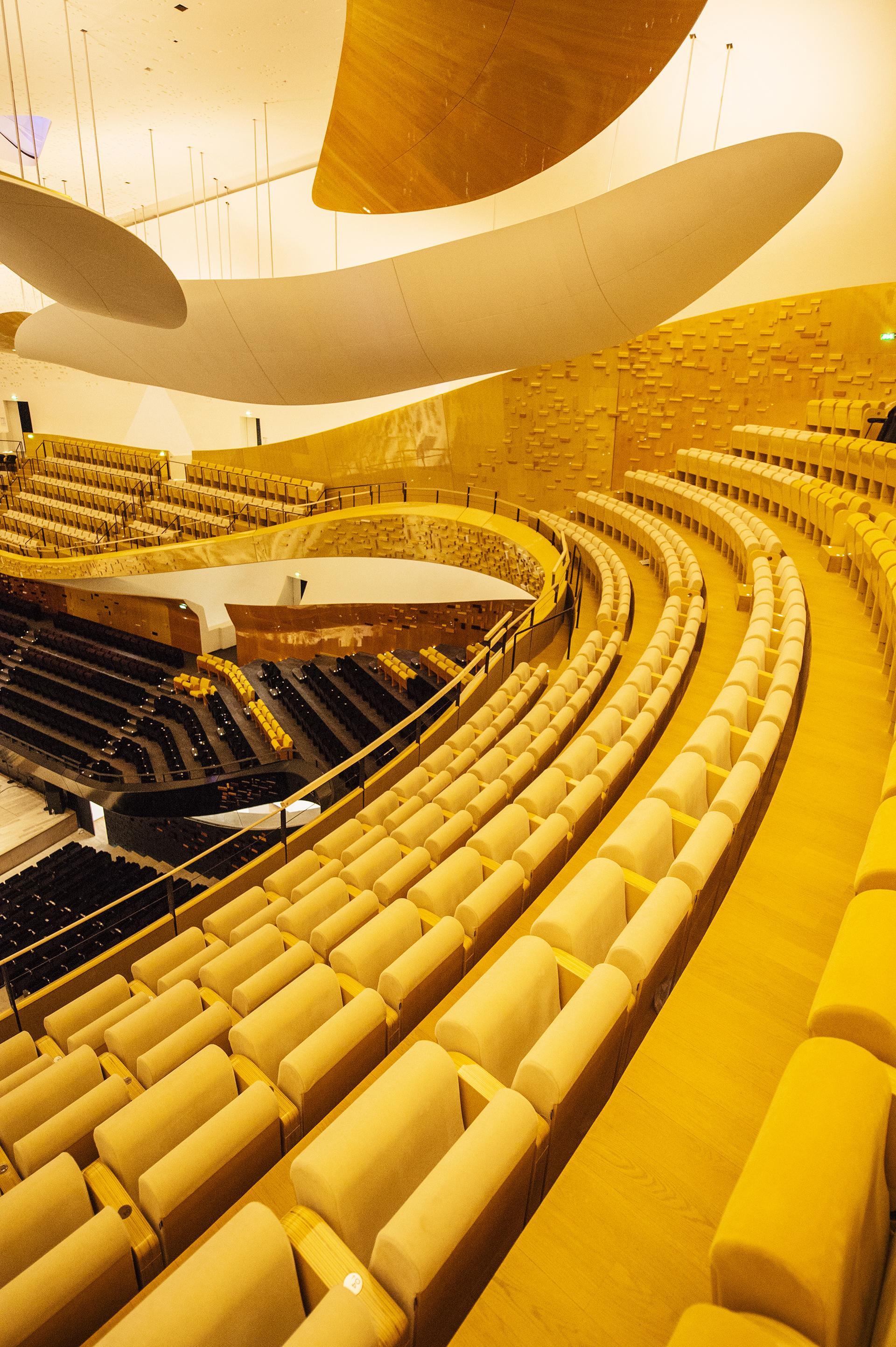 Philharmonie de Paris, Großer Saal