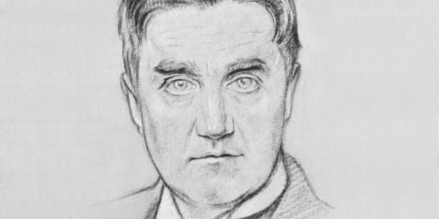 Ralph Vaughan Williams. Zeichnung von William Rothenstein, 1919