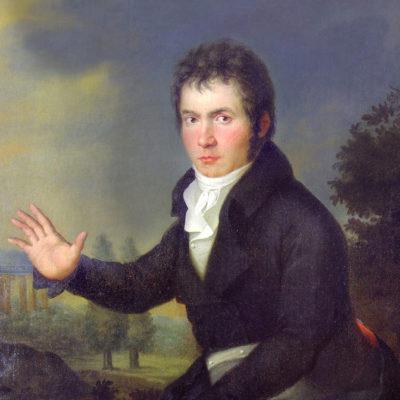 Ludwig van Beethoven. Gemälde von Joseph Mähler, 1804/05