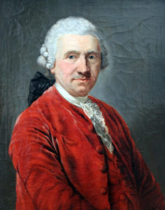 Conrad Ekhof. Gemälde von Anton Graff, 1775