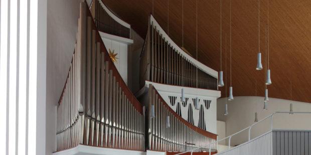 Orgel der Hauptkirche St. Nikolai in Hamburg
