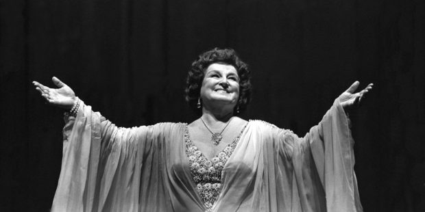 Birgit Nilsson, an der Metropolitan Opera, 1979