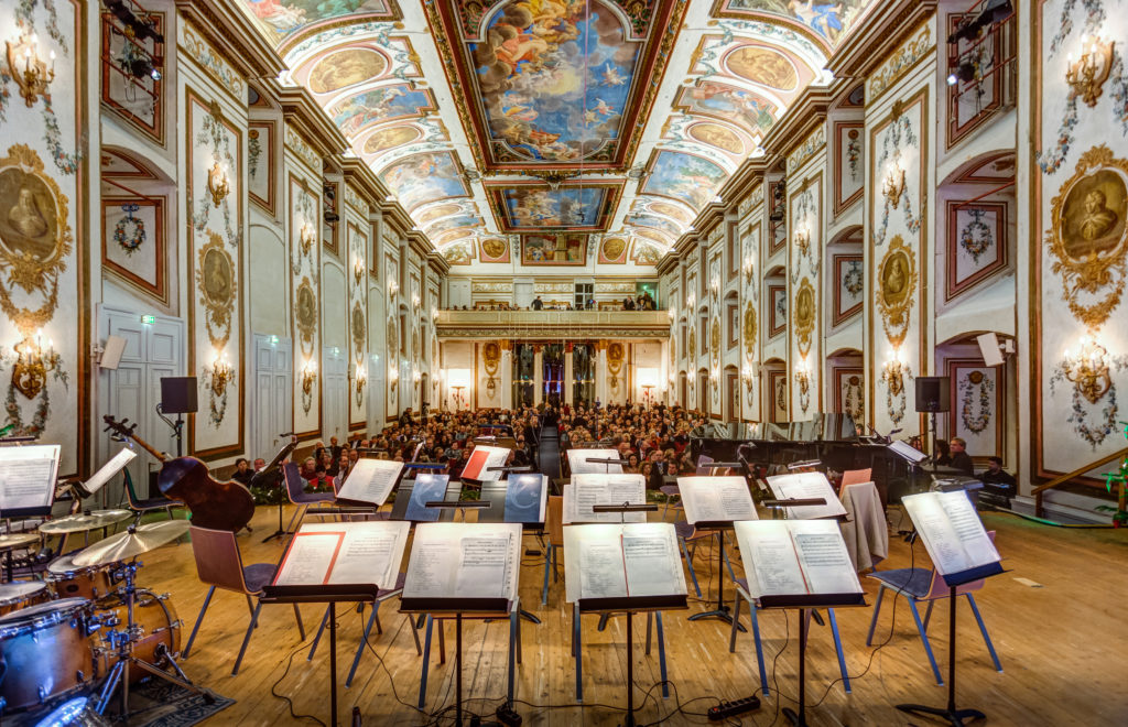Haydnsaal im Schloss Esterhazy, Eisenstadt