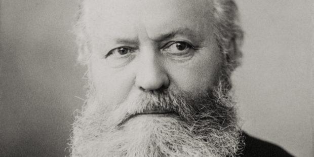 Charles Gounod, Fotografie von Nadar 1890