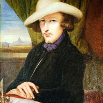 Charles Gounod, Gemälde von Imanuel Heinrich Lengerich