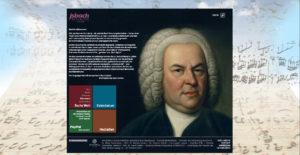 jsbach.de, Homepage