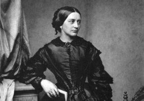 Clara Schumann um 1850. Fotografie von Franz Hanfstaengel