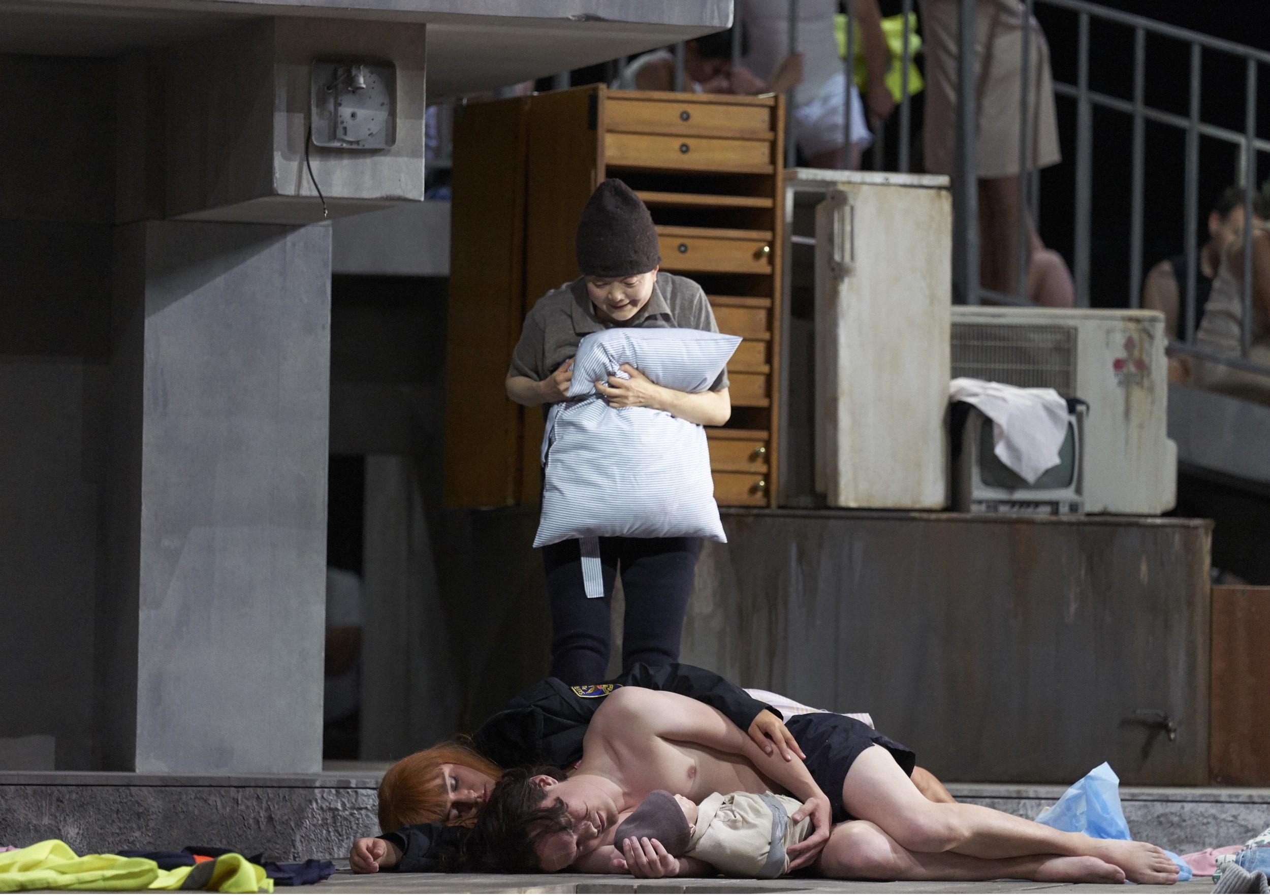 "Szenenbild aus ""Erdbeben. Träume"""