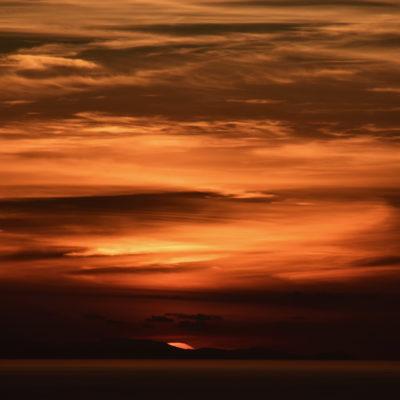 """Abendrot. Symbolbild zu Richard Strauss' """"Vier letzte Lieder"""""""
