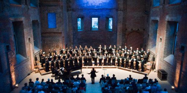 Abschlusskonzert der Meisterklasse für Chordirigieren in der Kirche St. Elisabet