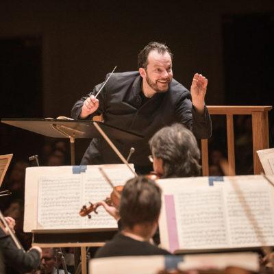 Andris Nelsons dirigiert das Boston Symphony Orchestra