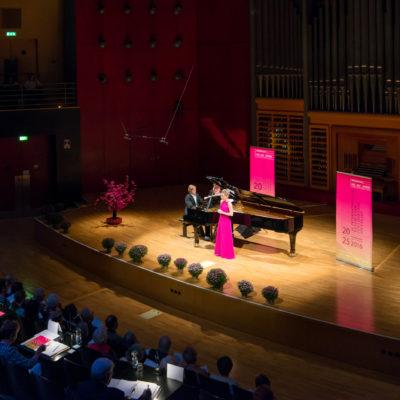 Internationaler Wettbewerb für Liedkunst Stuttgart der Hugo-Wolf-Akademie. Hier: Finalrunde 2016