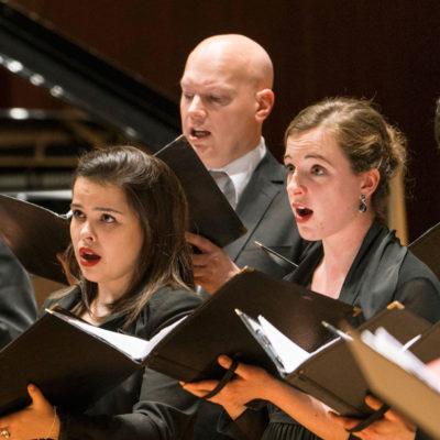 """Rundfunkchor Berlin: Abschlusskonzert des Projekts """"Schola"""" für Gesangsstudierende"""