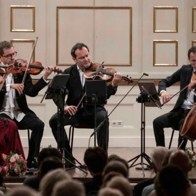 Salzburger Festspiele: Kammerkonzert mit dem Belcea Quartetund Antoine Tamestit