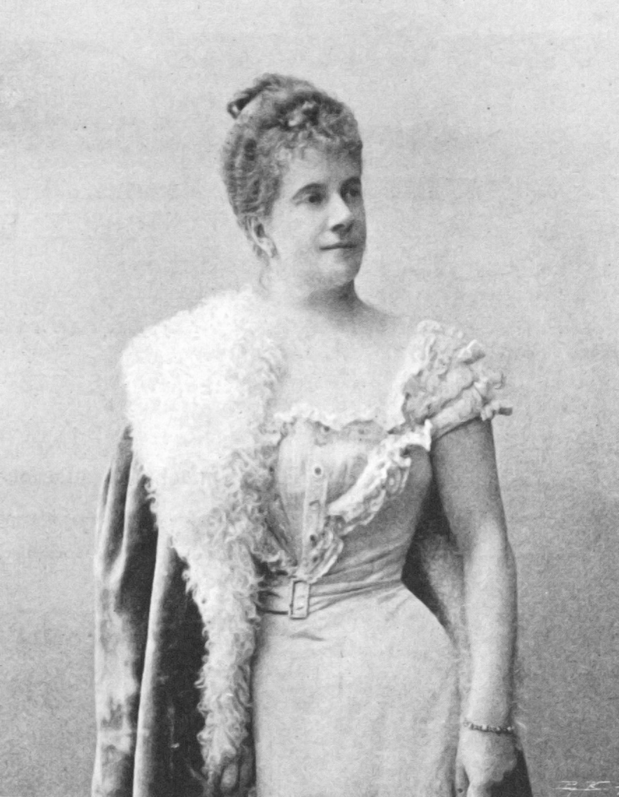 Pauline Strauss, geb. de Ahna, 1902