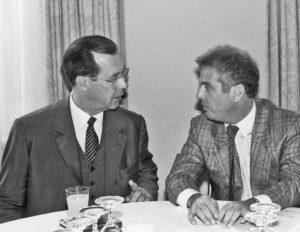 Witiko Adler und Daniel Barenboim