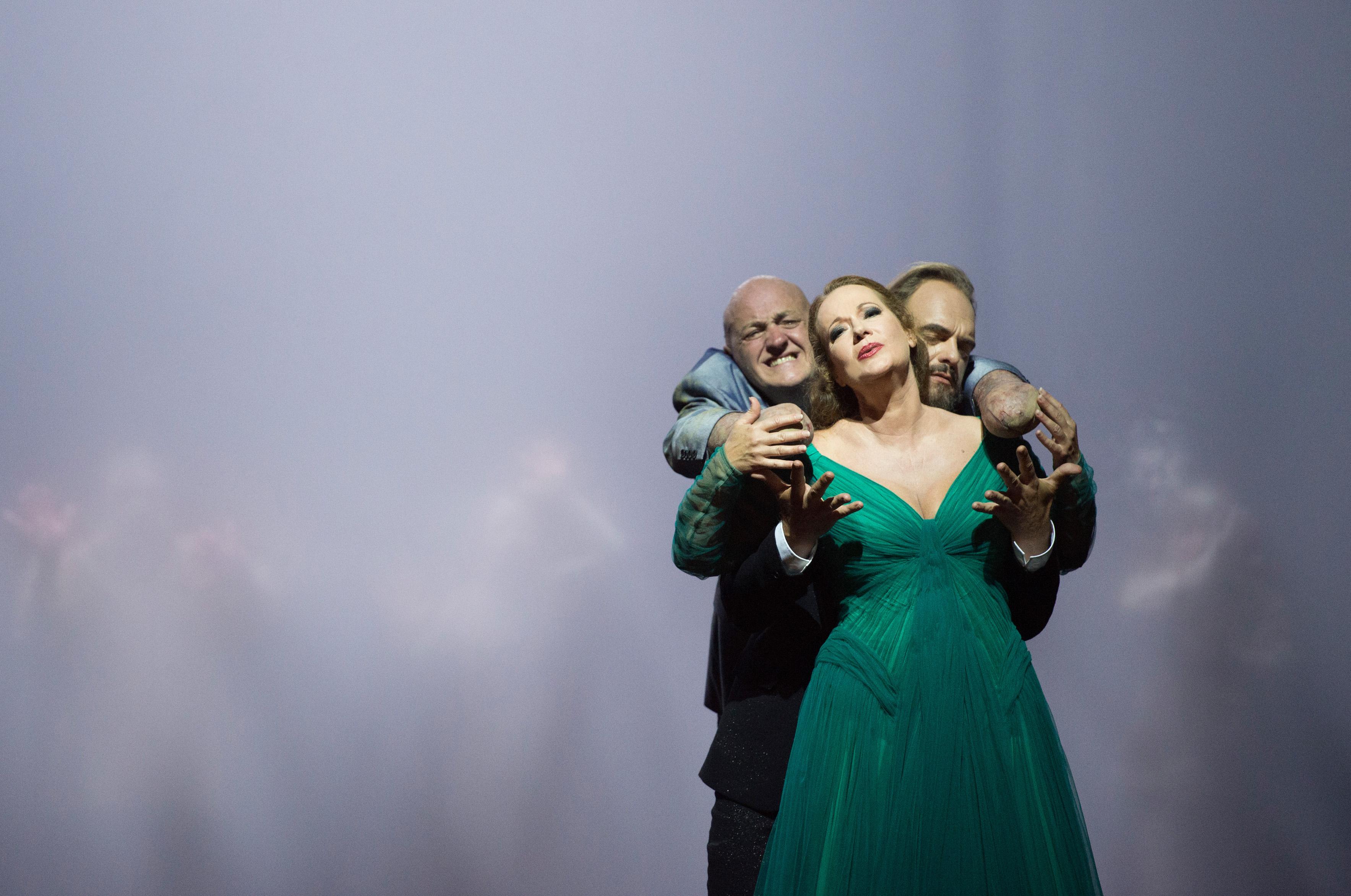 """""""Die Gezeichneten"""" am Opernhaus Zürich mit John Daszak, Catherine Naglestad & Thomas Johannes Mayer"""