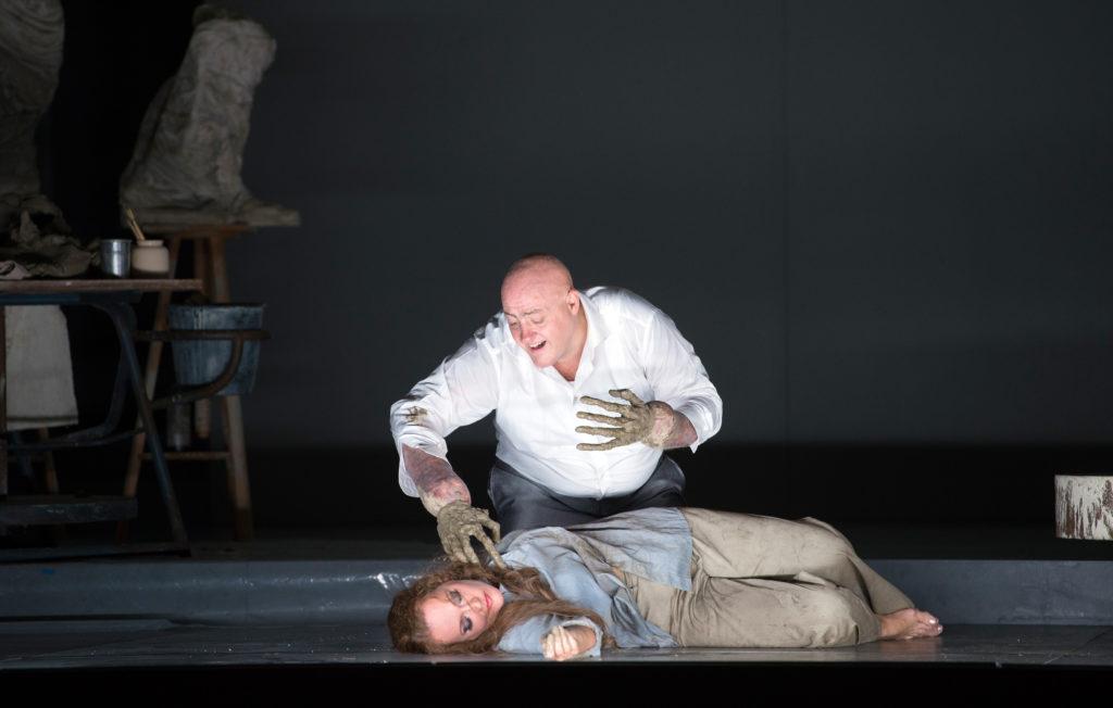 """""""Die Gezeichneten"""" am Opernhaus Zürich mit John Daszak & Catherine Naglestad"""