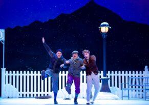 Revueoperette Drei Männer im Schnee