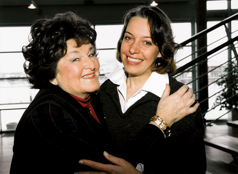 1996 traf Nina STemme ihr Vorbild Birgit Nilsson